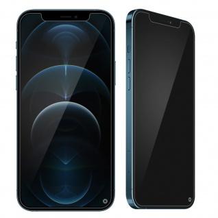 Apple iPhone 12 Pro Max Displayschutz mit Blickschutz, Force Glass ? Transparent