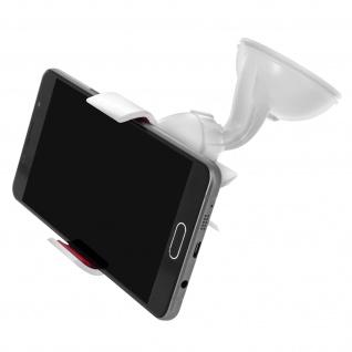 Kfz-Halterung für Smartphones Weiß - Universal 360° drehbar