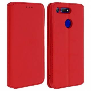 Kunstleder Cover Classic Edition Honor View 20 - Rot
