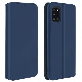Kunstleder Cover Classic Edition für Samsung Galaxy A31 ? Blau