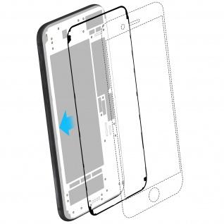 LCD-Kleber Set für Apple iPhone 7 - Klebestreifen Blau