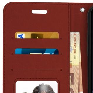 Flip Stand Cover Brieftasche & Standfunktion Apple iPhone XR - Braun - Vorschau 4