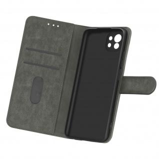 Flip Cover Geldbörse, Etui Kunstleder für Xiaomi Mi 11 5G ? Grau