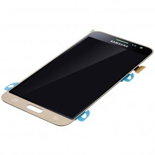 Original Samsung LCD Komplettset Samsung Galaxy J3 + Touchscreen - Gold - Vorschau 5