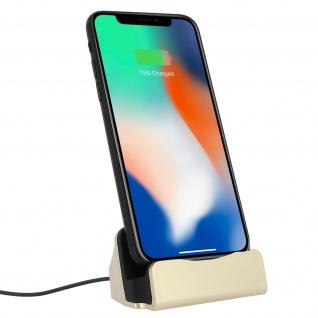 iPhone Ladestation Aufladen & Synchronisierung mit Lightning Anschluss � Gold