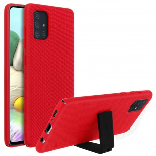 Nillkin Super Frosted Shield Samsung Galaxy A71 Polycarbonat Handyhülle - Rot