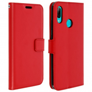 Flip Stand Cover mit Standfunktion für Huawei P Smart 2019 / Honor 10 Lite - Rot