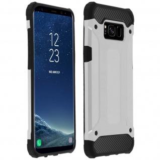 Defender II schockresistente Schutzhülle (1, 80M)Samsung Galaxy S8 Plus - Silber