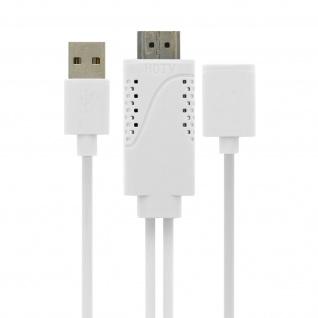 USB Kabel MHL weiblich zu HDMI männlich zu männlich HDTV Smartphone/Tablett