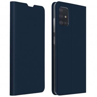 Klappetui mit Kartenfach & Standfunktion Samsung Galaxy A51 - Dunkelblau