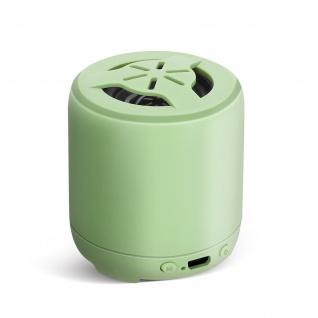 Bluetooth Smartphone Lautsprecher 3W Mikrofon 3Std. Akkulaufzeit Setty - Grün
