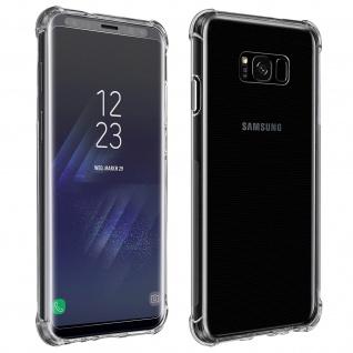 Premium Schutz-Set Galaxy S8 Plus Schutzhülle + Schutzfolie - Transparent