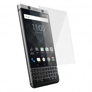 9H Härtegrad kratzfeste Glas-Displayschutzfolie BlackBerry Keyone - Transparent