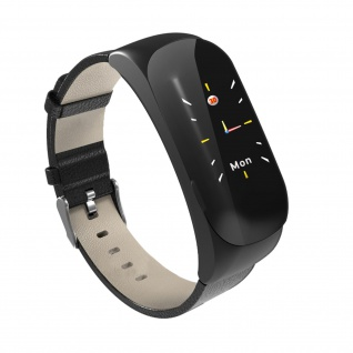 Bluetooth Smartwatch für Android und iOS, Touchscreen â€? Schwarz