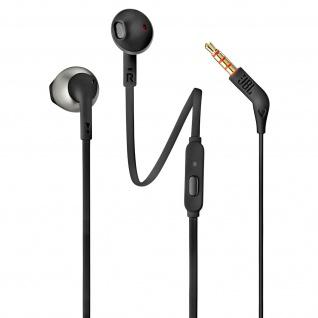 JBL T205 3.5 Klinkenstecker in-ear Kopfhörer mit Freisprecheinrichtung - Schwarz