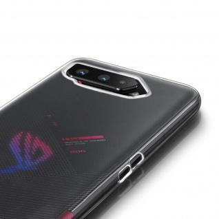 Asus ROG Phone 5 Schutzhülle Silikon Second Skin - Transparent