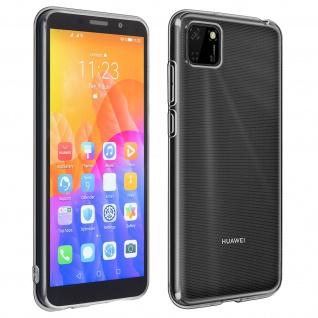 360° Protection Pack für Huawei Y5p: Cover + Displayschutzfolie