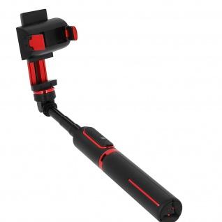 Stabilisator, Stick / Stativ + Bluetooth-Fernbedienung, 1 Achse - Schwarz