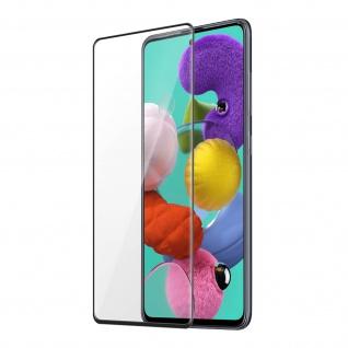 9H Härtegrad kratzfeste Glas-Displayschutzfolie Galaxy A51 â€? Schwarz