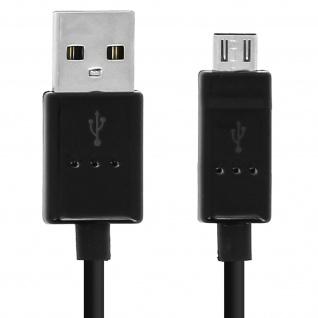 Original LG USB/ Micro-USB Ladekabel - Aufladen & Synchronisierung - Schwarz
