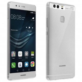 Huawei P9 Schutzhülle Silikon ultradünn (0.30mm) ? Transparent