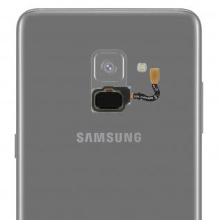 Ersatzteil Haupttaste mit Flexkabel für Samsung Galaxy A8 Schwarz