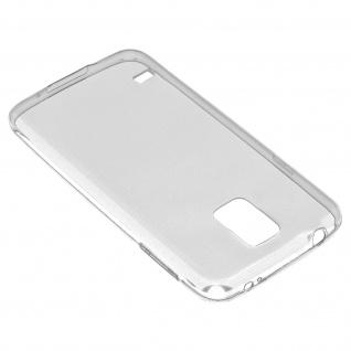 Samsung Galaxy S5, S5 transparente Hülle + Glas-Displayschutzfolie