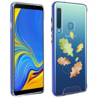 Handyhülle für Galaxy A9 2018, Made in France ? Herbstlaub Design