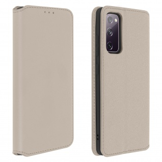 Kunstleder Cover Classic Edition Samsung Galaxy S20 FE � Gold