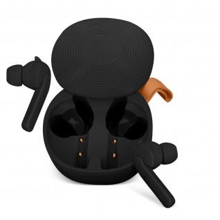 Kabellose Sport-Kopfhörer IPX6 zertifiziert 30Std. Akkulaufzeit - Schwarz