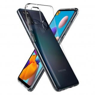 Spigen Liquid Cristal leichte Handyhülle für Samsung Galaxy A21s - Transparent