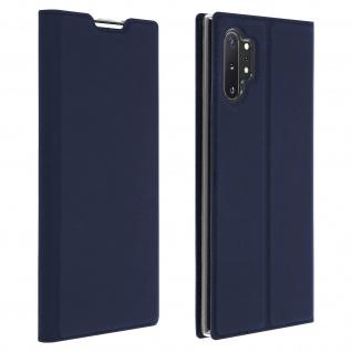Klappetui mit Kartenfach & Standfunktion Galaxy Note 10 Plus Dunkelblau
