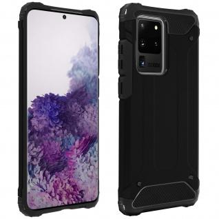 Defender II schockresistente Schutzhülle Samsung Galaxy S20 Ultra â€? Schwarz