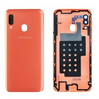 Ersatzteil Akkudeckel, neue Rückseite für Samsung Galaxy A20e - Rot
