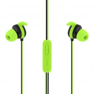 Setty Sport in-ear Kopfhörer mit 3.5mm Klinkenstecker und Mikrofon ? Grün