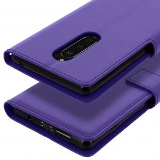 Flip Stand Cover Brieftasche & Standfunktion für Sony Xperia 1 - Violett - Vorschau 5
