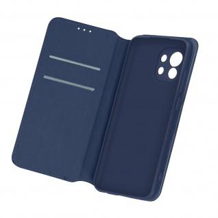 Kunstleder Cover Classic Edition für Xiaomi Mi 11 5G â€? Dunkelblau
