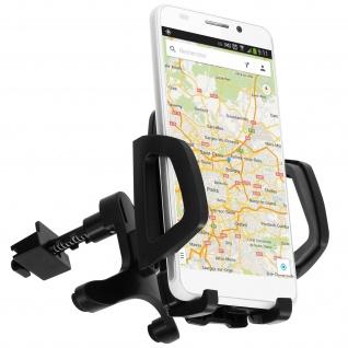 360° drehbare KFZ-Halterung für Smartphones - Lüftungshalterung - Schwarz