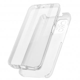 Schutzhülle für Xiaomi Redmi Note 10 Pro, Vorder- + Rückseite ? Transparent