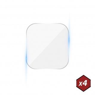 4x Rückkamera Schutzfolien, 6H flexibles Glas für Oppo A73, 3mk ? Transparent