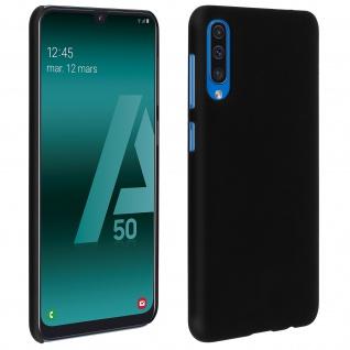 Hardcase, Schutzhülle aus Polycarbonat Samsung Galaxy A50, frosted case- Schwarz