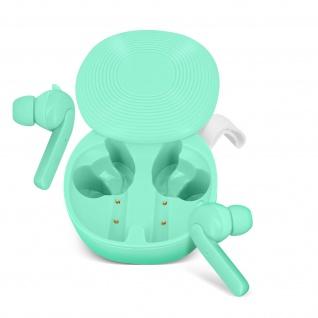 Kabellose Sport-Kopfhörer IPX6 zertifiziert 30Std. Akkulaufzeit - Grün