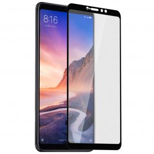9H kratzfeste Glas-Displayschutzfolie für Xiaomi Mi Max 3 - Schwarz