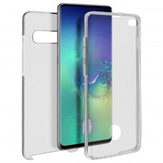 Schutzhülle für Samsung Galaxy S10 Plus, Vorder- + Rückseite ? Transparent