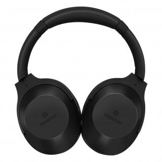 Hurricane IPX3 Wireless Bluetooth-Headset, Swissten - Schwarz