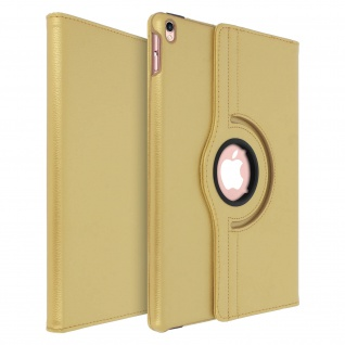 360° Klapphülle, Etui mit Standfunktion Apple iPad Air 2019 / Pro 10.5 - Gold