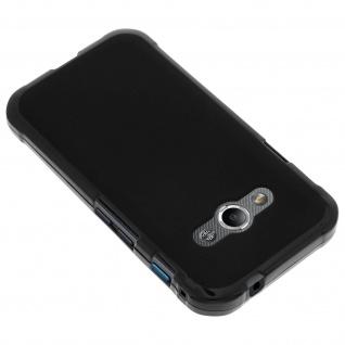 Flexible Schutzhülle aus Silikon für Samsung Galaxy Xcover 3 - Schwarz - Vorschau 2