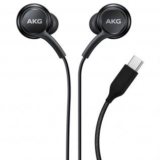 Original schwarze Samsung USB-C In-Ear Kopfhörer mit Steuerungstasten