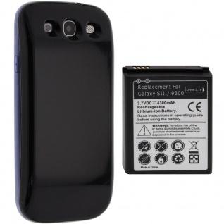 Samsung Galaxy S3 i9300 3500 Mah Ersatz-Akku + Akkufachdeckel