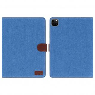 Denim Case, Klapphülle für iPad Pro 11 2020 / 2018 / iPad Air 2020 ? Türkisblau